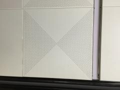 对角600X600铝扣板